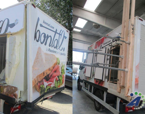 Camioncino frigo incidentato | ASSOPLAST