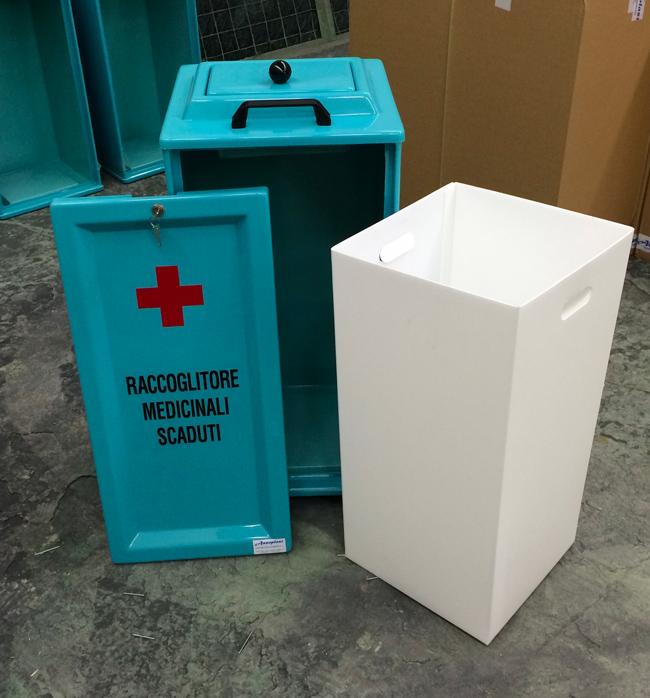 Contenitore Medicinali Scaduti Aperto