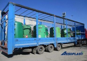 Manutenzione cassonetti rifiuti urbani e campane raccolta vetro