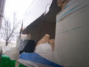 Repair Plywood Body