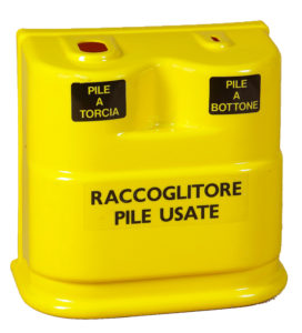 Batteries Waste Container